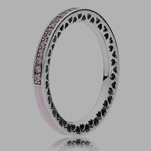 Pandora Radiant Hearts Ring